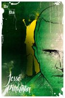 Jesse Pinkman - Breaking Bad by GustavBAD