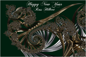Happy New Year by rosshilbert
