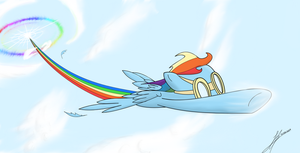 Sonic Rainboom! by WhoovesPON3