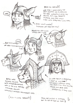 Anthro Helmets Again!  Part One by 0laffson