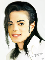 michael jackson painting by perlaque