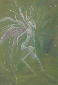 Junefae: Flower Faerie by thedancingemu