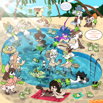 BB Team Thursday - Pool Party by QviCreations