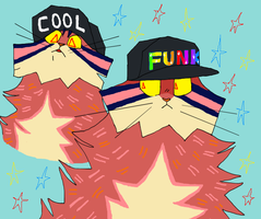 Funk hat by POLYCHAETE