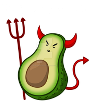 The Devils Avocado by KTechnicolour