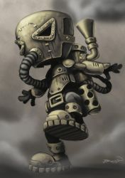 Steampunk Character WIP 3 by craig-bruyn