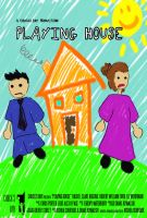 Playing House poster by Kelie