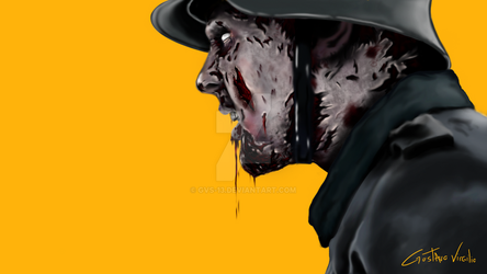 Dead Snow- Digital Painting by Gvs-13