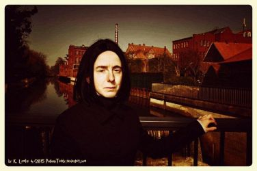 Snape at Spinner's End 02 by PotionsTeddy