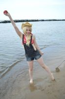 Applejack at the beach 5 by shelle-chii