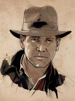 Indiana Jones by jasonbaroody