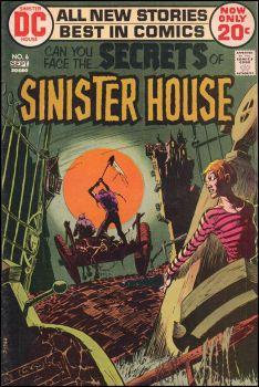 Secrets Of Sinister House #6 by derrickthebarbaric