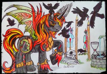 Vlad Tepes Dracul My little Pony by Candycornfay