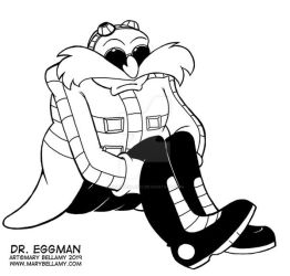 Existential Eggman by MaryBellamy