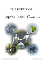 The Battle of Lapiths and Centaurs - Comics - ttl by Berandas
