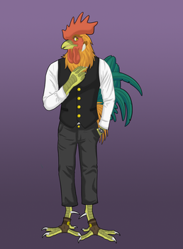 New Character: Viktor by Iron-Zing
