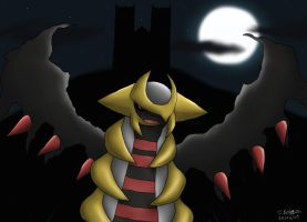 -PKMN- Giratina's Night by pdutogepi