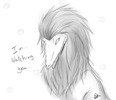 I'm watching you by lykitty
