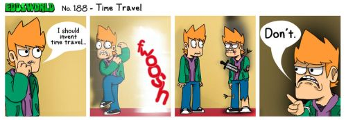 EWCOMIC No. 188 - Time Travel by eddsworld