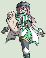 Tuning Magician's clean foot by Incompleteusername01