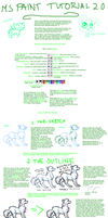 MS Paint tutorial 2.0 by Dinaria