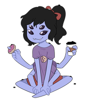 Casual Muffet by itsaaudraw