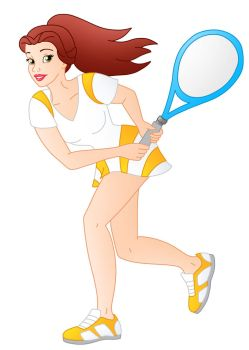 Disney Athletes: Belle by Willemijn1991