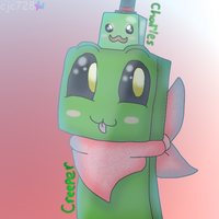 Creeper and Charles (Epic Minequest) {GIFT} by cjc728