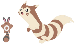 Sentret and Furret Base