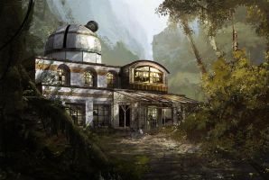 Lost observatory by Gaan