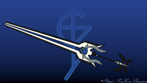 Sword Of Ghost by Plateal
