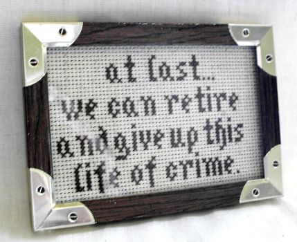 Firefly/Serenity Quote Cross Stitch by agorby00