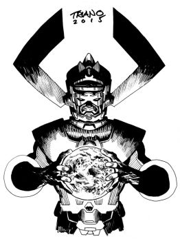 GALACTUS COMMISSION GRAND RAPIDS by MattTriano