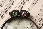 Dragon eye ring - Dungeons and dragon jewelry by Curionomicon