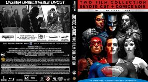 JLA Comics Noir Blu-ray cover by childlogiclabs
