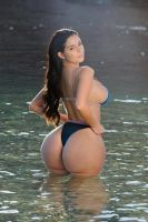 Demi Rose - Proud of her Ass by Subaaz