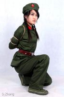 Chinese Soldier Bondage (3) by D-ZHANG-PHOTOGRAPHY