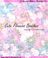 Cute Flowers Brushes. by Coby17