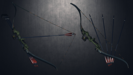 [MMD] Recurve Bow for DL by AbyssLeo
