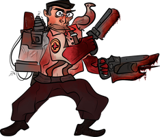 TF2: Medic by Hisscale