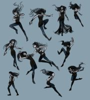Pose Practice with Blue by LauraHollingsworth