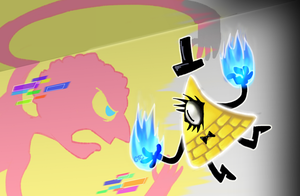 Bill Cipher Vs Prismo by CinamonToastCrunch