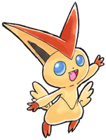 #494 Victini by little-ampharos
