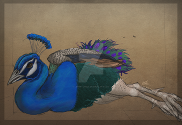 The Lying Peacock {Speedpaint} by LeoMitchell