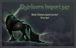Quirlicorn Import 347 by Astralseed