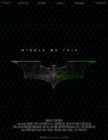 Batman: III Teaser Poster 1 by Gato-Chico