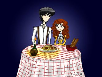 The Lady and the Tramp by Leonila14