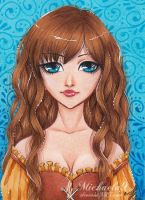 51. ACEO - Lonette by Michaela9