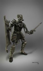 7 Mages - Undead soldier by hunterkiller