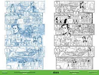 Dr Who Blu-Ray Special Pencil-Inks by rj-gonzalez